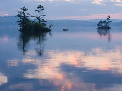 Dawn on Lake Winnepesauke, Moultonboro Neck, Moultonboro, New Hampshire, USA