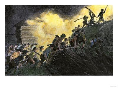 Capture of Paulus Hock, New Jersey, by Americans under Major Henry Lee, c.1779