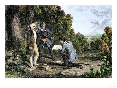 Capture of British Agent John Andre and Discovery of Benedict Arnold's Treason, American Revolution