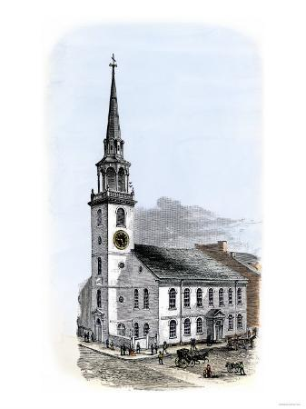 Old South Meeting-House, Site of Boston Tea Party Plot