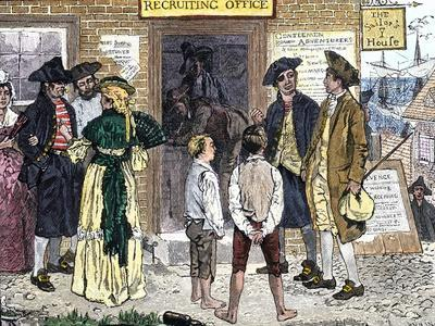 Recruiting Privateersmen to Serve the American Cause in the Revolutionary War, New London