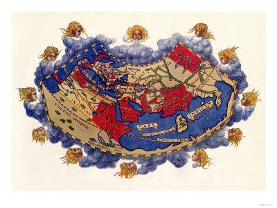 Ptolemy's World Map, c.150 AD