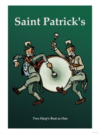 Saint Patrick, Two Harps Beat as One