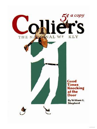 Collier's: Good Times Knocking at the Door