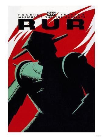 WPA Marionette Theater presents RUR (Rossum's Universal Robots)