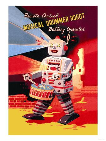 Musical Drummer Robot