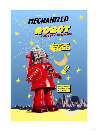 Mechanized Robot
