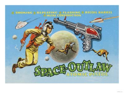 Space Outlaw Atomic Pistol