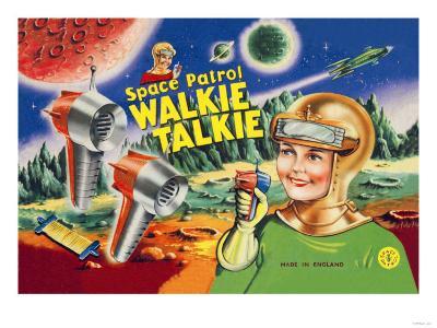 Space Patrol Walkie Talkie