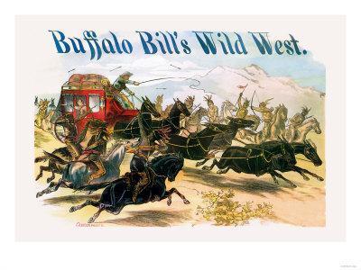 Buffalo Bill: Attack on Stagecoach