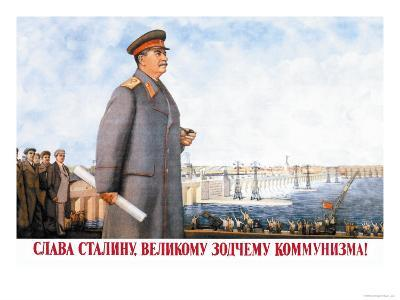 Long Live Stalin, Great Architect of Communism