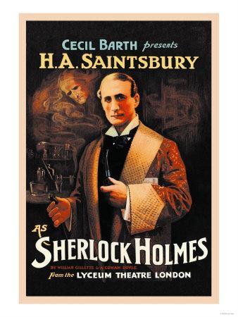 H. A. Saintsbury as Sherlock Holmes