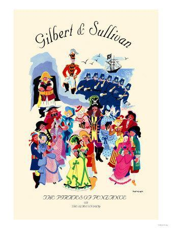 Gilbert & Sullivan: The Pirates of Penzance, or The Slave of Duty