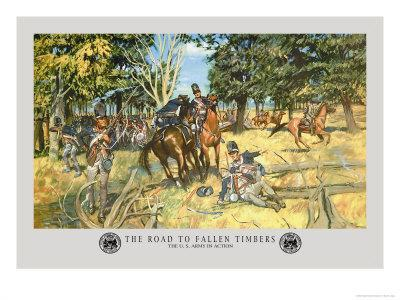 The Road to Fallen Timbers, Northwest Indian War