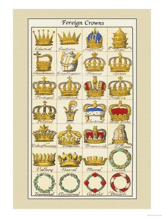 Foreign Crowns: Celestial, Eastern