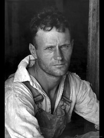Floyd Burroughs, Cotton Sharecropper