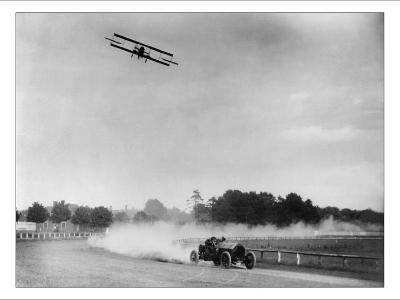 The Airplane Races the Automobile