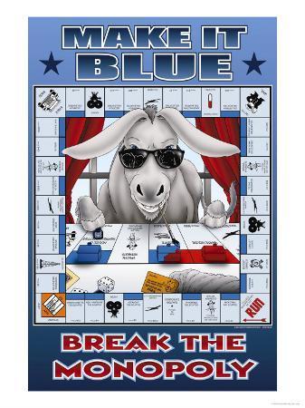 Make It Blue, Break the Monopoly