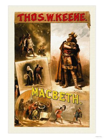 Thomas W. Keene as Macbeth, c.1884