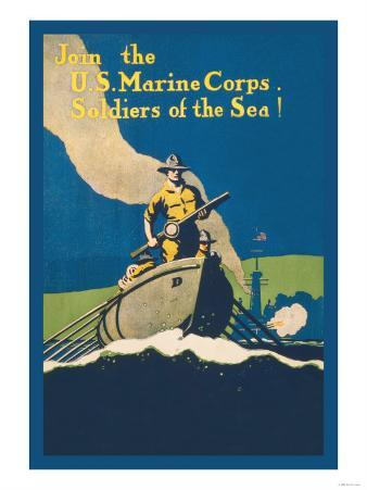 Join the U.S. Marine Corps, Soldiers of the Sea