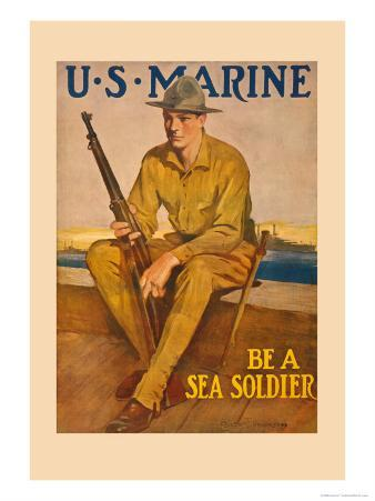 U.S. Marine, Be a Sea Soldier