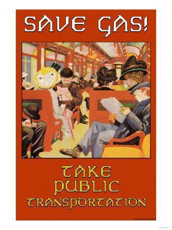 Save Gas, Take Public Transportation