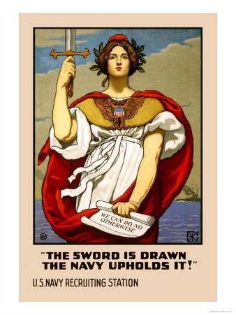 The Sword in Drawn, The Navy Upholds It!