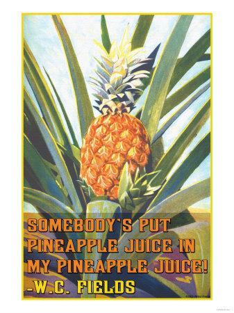 Somebody Put Pineapple Juice in My Pineapple Juice