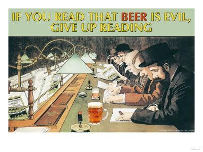 If You Read That Beer is Evil, Stop Reading