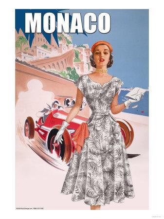 Monaco Lady's 50's Fashion I