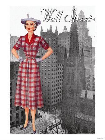 Wall Street 50's Dress