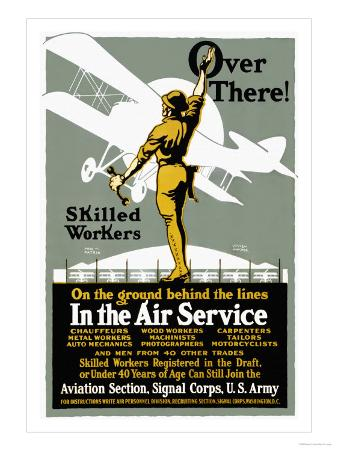 Join the Aviation Section of the Signal Corps