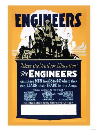 Blaze the Trail for Education, The Engineers