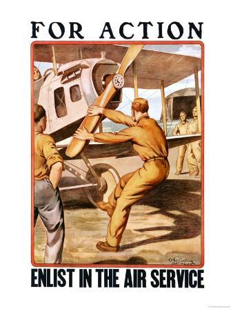 For Action, Enlist in the Air Service