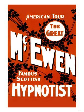 The Great Mcewen, Famous Scottish Hypnotist