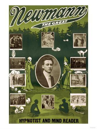 Newmann the Great Hypnotist and Mind Reader