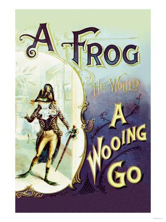 A Frog: A Wooing Go