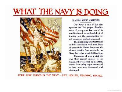 What the Navy is Doing, c.1918