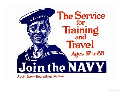 The Service for Training and Trave, Join the Navy, c.1917
