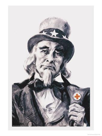 Uncle Sam for the Red Cross