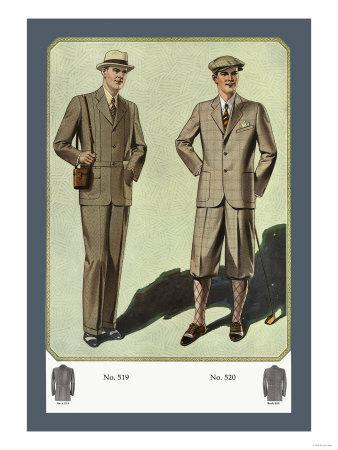 Three-Button Norfolk