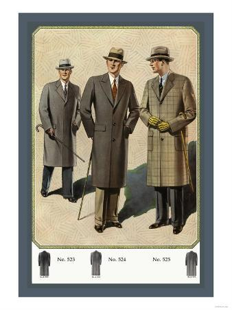 Chesterfield Fly-Front Overcoat