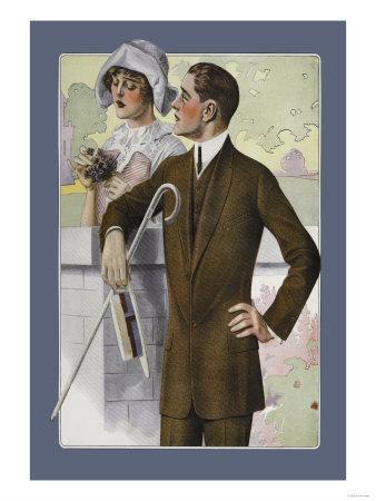 Dapper Man and Maudlin Girl