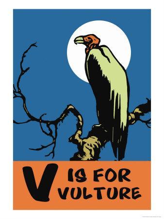 V is for Vulture