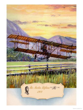 The Martin Biplane, 1909