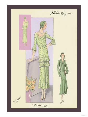 Green Daytime Fashions