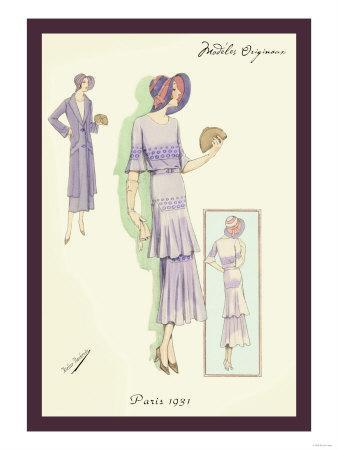 Springtime Dress in Lavender
