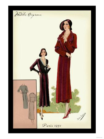 Modeles Originaur: Burgundy Chic