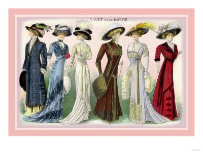 L'Art de la Mode: A Variety of Beautiful Fashions