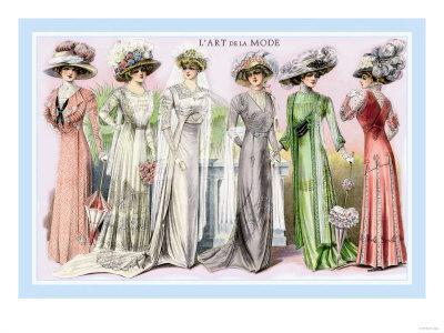 L'Art de la Mode: Six Beautiful Gowns
